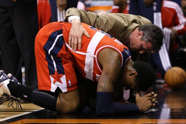 John Wall Provides the Clinchers, Bradley Beal Re-Injured in 88-79 Win