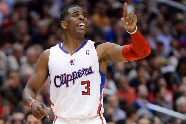 Paul Powers Through Injury as Clippers Rout 76ers