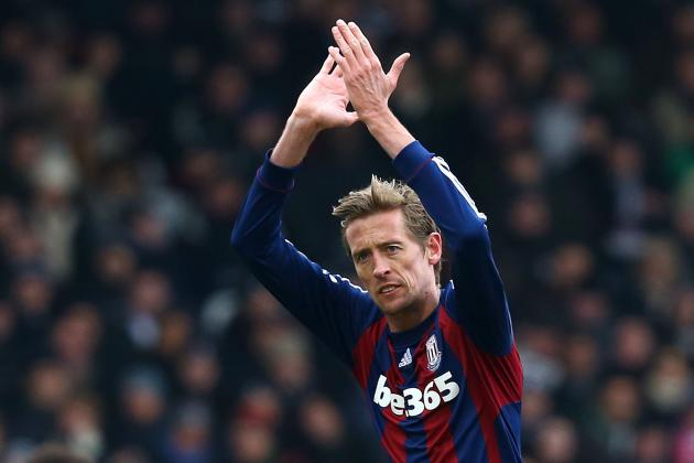 Stoke Striker Peter Crouch Backs Michael Owens Decision to Retire