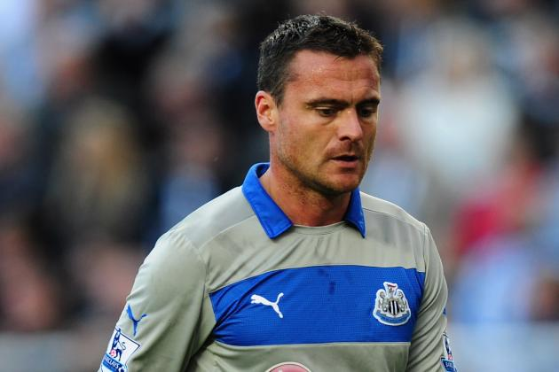 Steve Harper's Magpies Career Is over