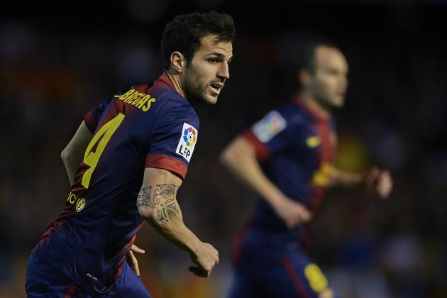FC Barcelona: The Disappointment at Having Not Seen the Best of Cesc Fabregas