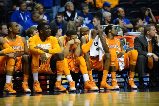 Season Ends for Vols in NIT Opener, 75-67