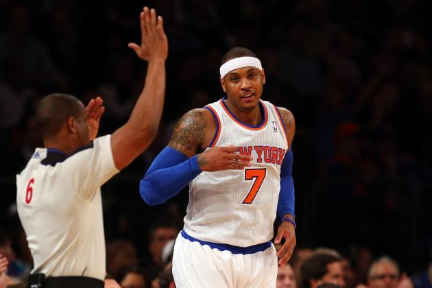 Grading Carmelo Anthony's Return Against the Orlando Magic