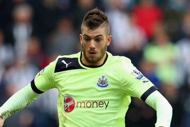 Newcastle Defender Davide Santon Flattered with Milan Link