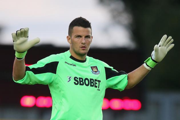 Goalkeeper Stephen Henderson Returns to West Ham from Ipswich