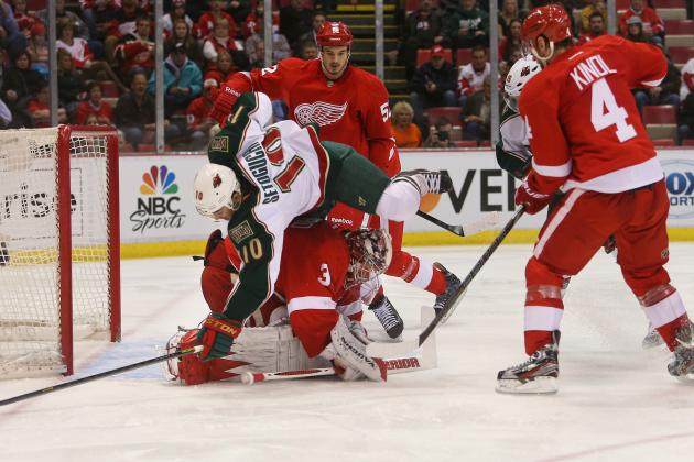 Minnesota 4, Detroit 2: Blown Chances, Errors on Defense Cost Red Wings