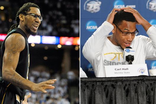NCAA Tournament: Wichita State's Carl Hall's Hair (PHOTOS)
