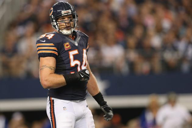 With Urlacher Gone, What Is the Bears' Next Step at Middle Linebacker?
