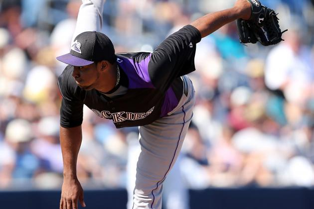 Rockies' Juan Nicasio's Changeup Key to Progress