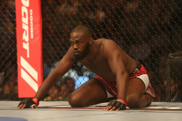 Jon Jones Responds to Sonnen: 'I'm Going to Use My TV Platform to Clown You'