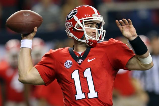Georgia Football: QB Aaron Murray Clearly Acting the Part of a Leader