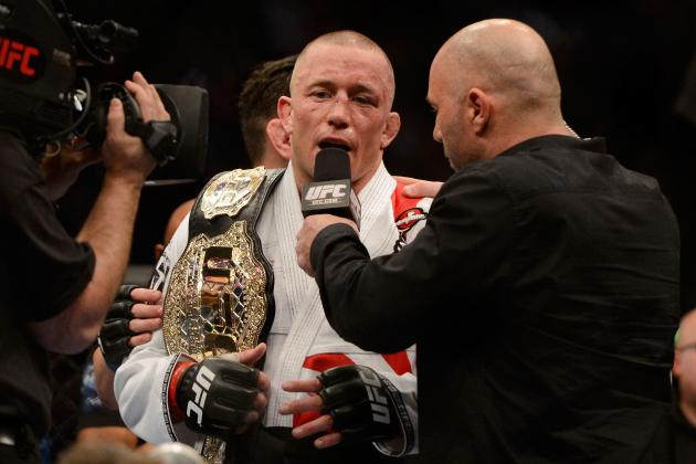 UFC 158: GSP Fought Nick Diaz with Achilles Injury, Could Be Gone 6 Months