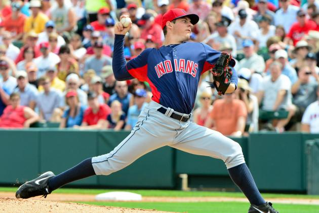 Indians Option Top Prospect Bauer to Triple-A