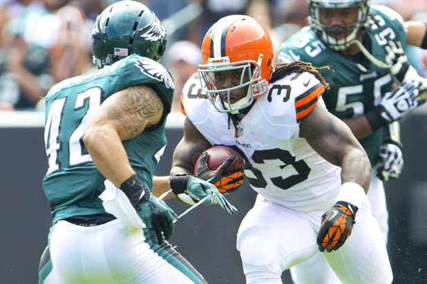 Browns Running Back Trent Richardson on New Crown Rule