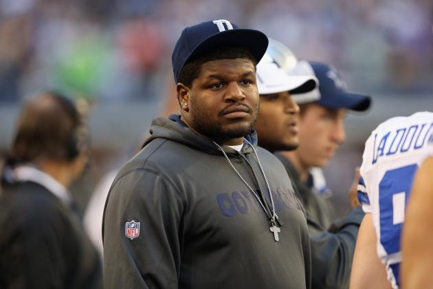 Report: NT Josh Brent Won't Play for Cowboys in 2013