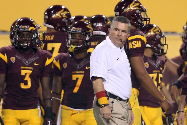Talk of Rose Bowl Dominates Spring Practices for ASU Football