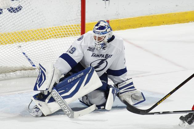 Lightning Announce Lindback out Indefinitely
