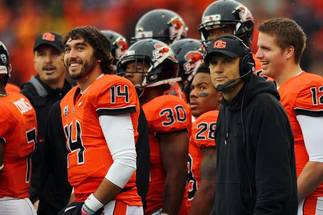 Mike Riley Previews Oregon State Spring Football