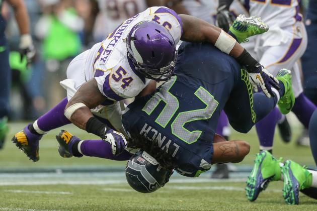 Seattle Seahawks: Will New Helmet Rule Hurt Marshawn Lynch?
