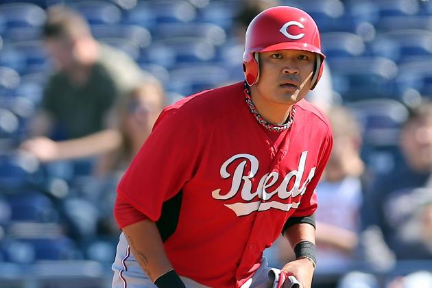 Shin-Soo Choo Misses Fifth Straight Game with Back Spasms