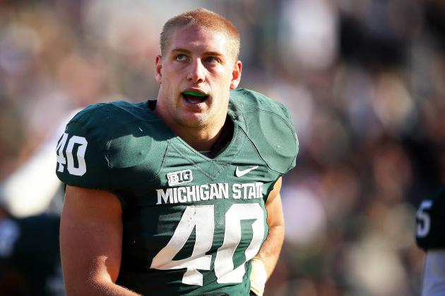 Spartans' Max Bullough Tutors His Little Brother