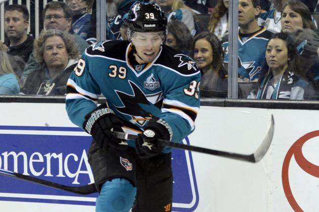 Couture Shines in Win Over Oilers