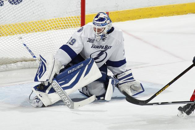 Anders Lindback out Indefinitely with Ankle Sprain