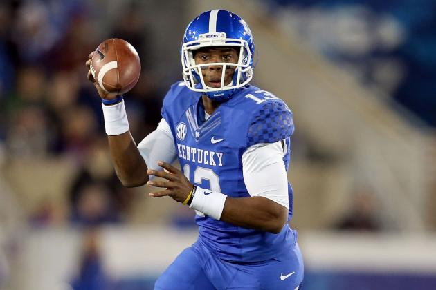 Kentucky QBs Discuss Three-Way Competition for Starting Job