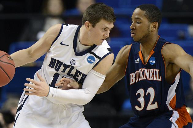 Second Round: Butler Bucks Bucknell