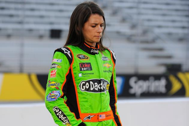 For Danica Patrick, It's Been Grim Since Daytona