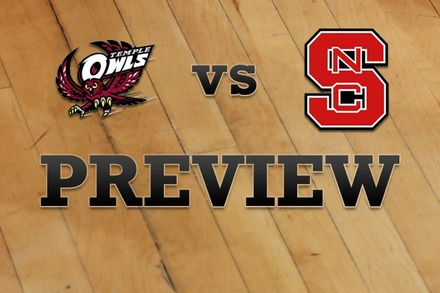 Temple vs. NC State: Full Game Preview