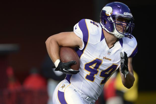 Chiefs Sign Former Vikings Fullback Ryan D'Imperio