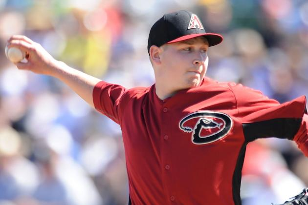Arizona Diamondbacks' Trevor Cahill Battles Control and Command Issues