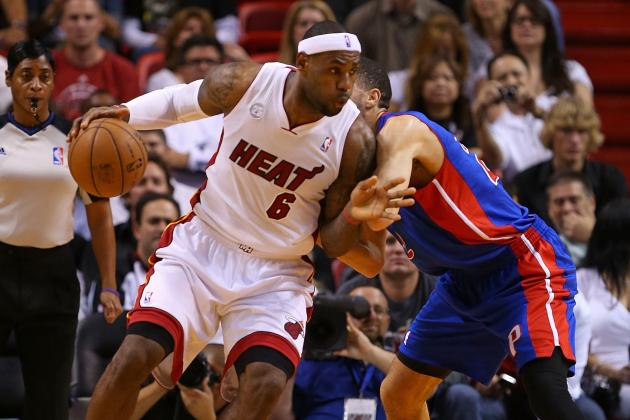 Miami Heat Go for 25 Straight Wins When They Host Detroit Pistons