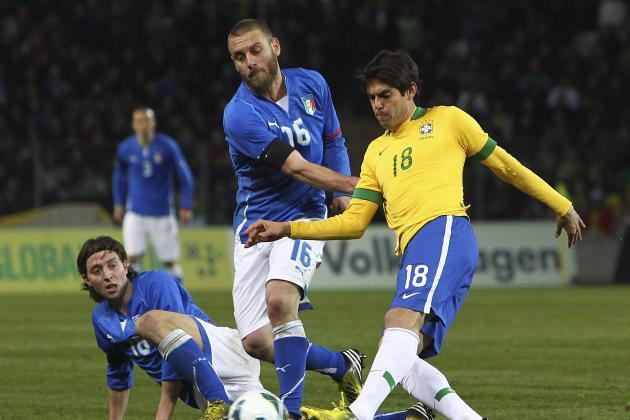 Italy 2-2 Brazil: Sensational Balotelli Strike Stuns Seleção