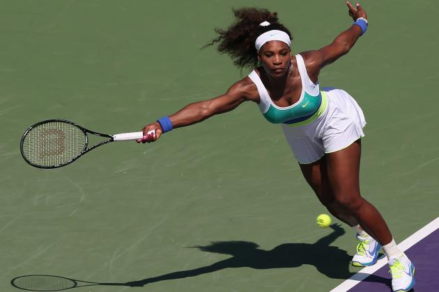 Serena Williams Opens Miami Campaign Well
