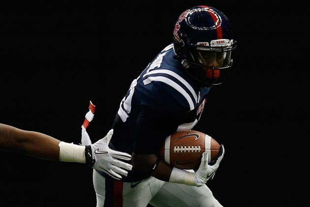 Domestic Violence Charge Nets Ole Miss WR Adismissal
