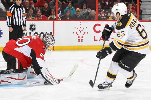 ESPN Gamecast: Bruins vs. Senators