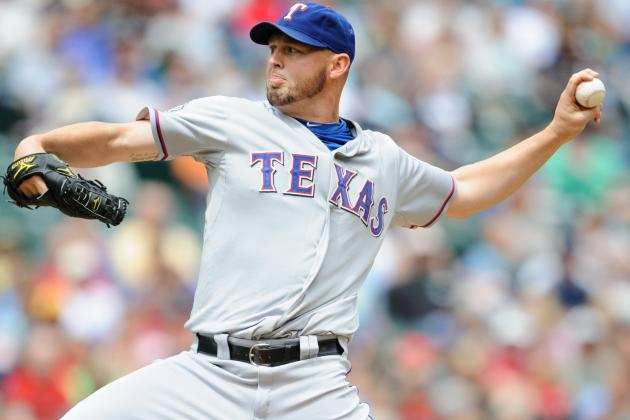 Rangers Name Matt Harrison Opening Day Starter