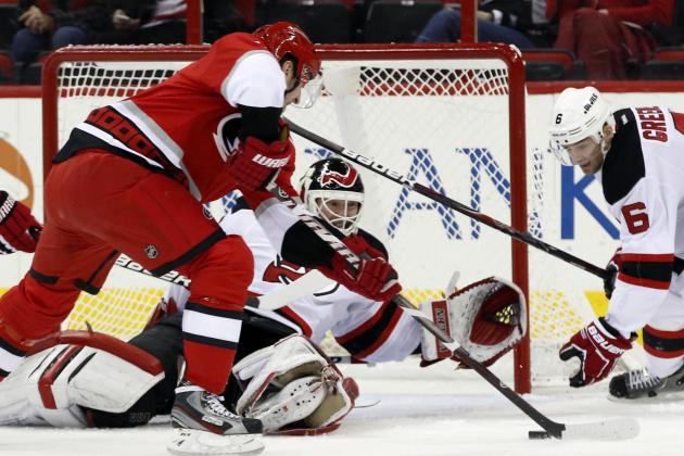 Brodeur Scores Third Career Goal in Devils' Win