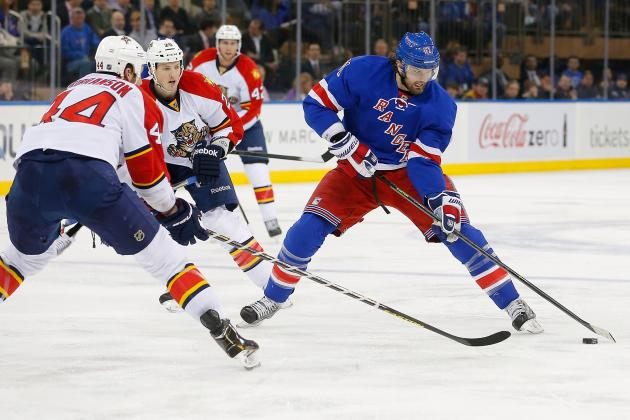 Rick Nash Will Not Be Suspended for Dangerous Elbow on Tomas Kopecky (Video)