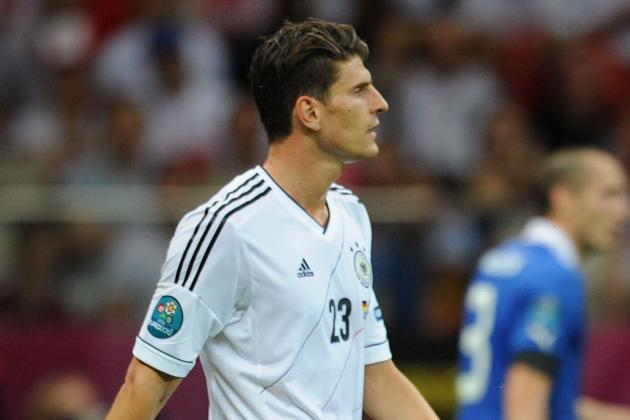 Germany's Only Striker Gomez Ruled out