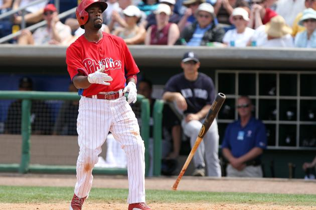 Charlie Manuel Talks Moving Jimmy Rollins Around in the Lineup