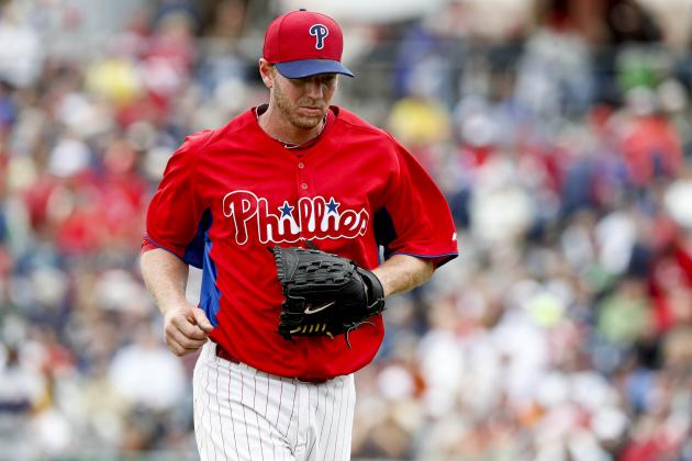 Phillies Say Halladay's Still on Schedule for April 3 Start
