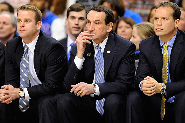 Longevity Defines Blue Devils Assistants Run with Krzyzewski-Led Duke