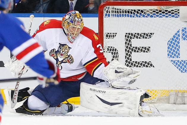 Panthers Defeat Rangers, Start Five-Game Road Trip on Good Note