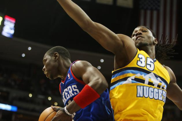 Video: Kenneth Faried, JaVale McGee with Huge Blocks
