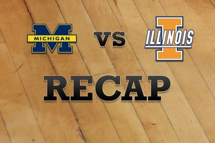Michigan vs. Illinois: Recap, Stats, and Box Score