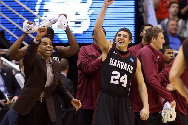 Harvard Gets 1st Tourney Win Ever