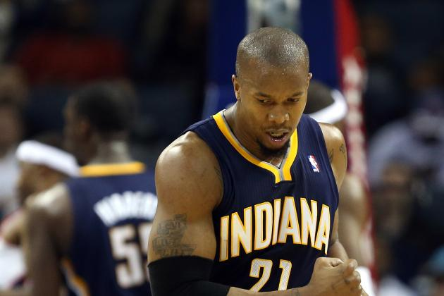 Pacers Likely Without David West All Weekend Due to Back